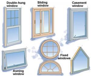 Residential window diagram